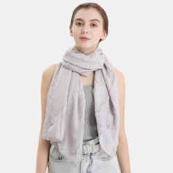 Polyester Solid Color Silk Ethnic Turban Hijab Scarf