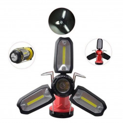 270LM COB 2000mAh Rechargeable Multifunctional Lantern LED Flashlight Work Light Waterproof Portable Night Fishing Light