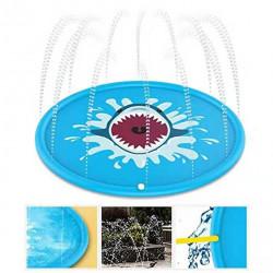 170cm Kids Inflatable Splash Water Pad Children Play Mat Outdoor Play Wading Toy Swimming Air Mattress