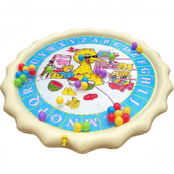 150cm Summer Swimming Air Mattress Kids Inflatable Baby Splash Water Pad Play Mat Children Wading Toys