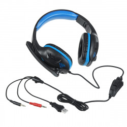 IN-968 3.5mm Gaming Headset Headphone LED Surround Sound MIC For PC Laptop PS4 Xbox