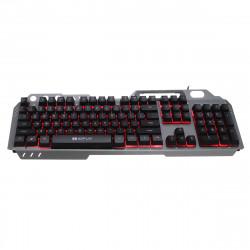 104Key RGB LED Backlight Ergonomic Design Gaming keyboard and 1600DPI RGB Mouse Combo