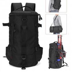 ZANLURE 23L Fishing Backpack Fishing Tool Bag Outdoor Multifunction Storage Bag Shoulder Bag