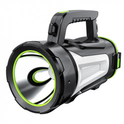 XANES JS-885A 1000LM USB Rechargeable Powerfule LED Flashlight Super Bright Spotlight Searchlight