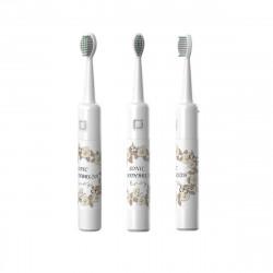 Electric Toothbrush Charging USB Sound Wave Electric Toothbrush Button Type Adult Electric Tooth Doft Brush Head