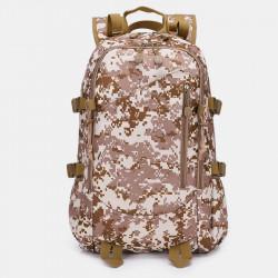 Men Large Capacity Waterproof Nylon Camouflage Backpack Travel Bag