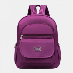 Women Fashion Casual Large Capacity Waterproof Multi-pocket Backpack For Outdoor Sport